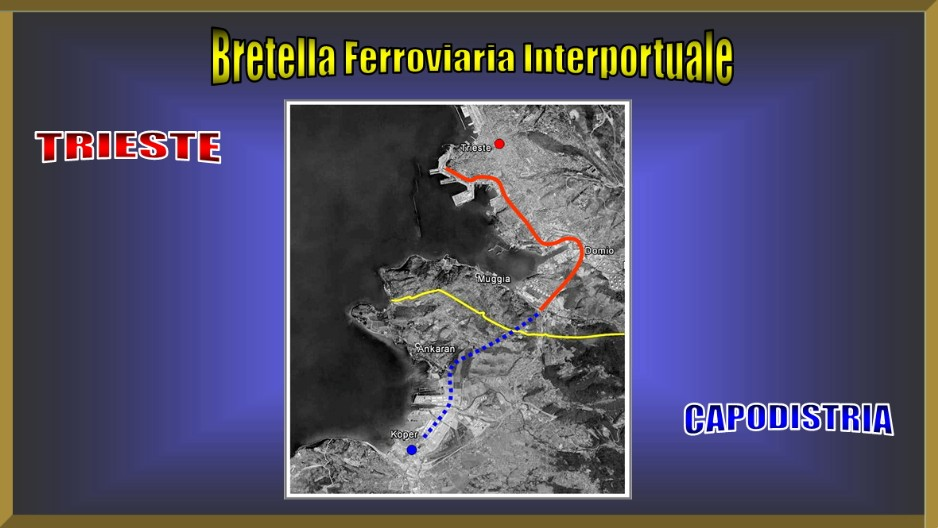 vendita ufficiale scarpe di separazione comprare bene Bretella Ferr. Trieste/Capodistria - Trieste e le sue scelte ...